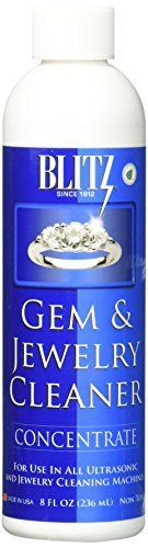 Blitz Gem  Jewelry Cleaner Concentrate 8 Oz >>> Continue to the product at the image link.
