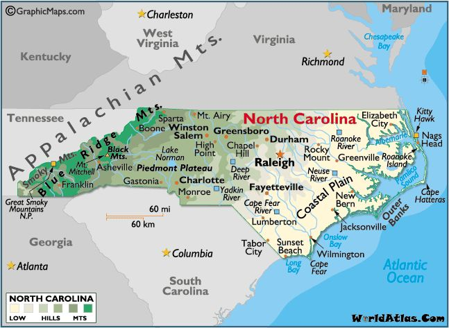 Best North Carolina Map Ideas On Pinterest Map Of Nc Map Of - Wilmington on us map