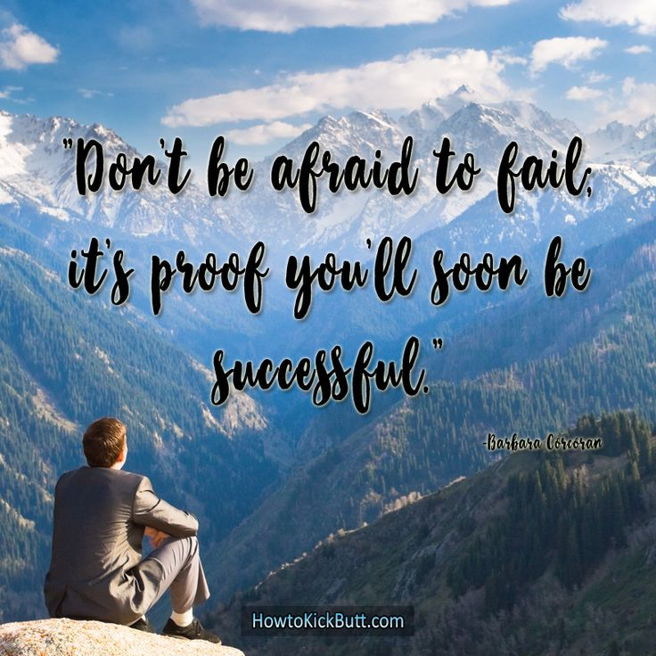 Failing means learning and learning means succeeding!