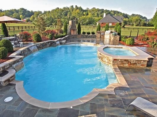 Blue Haven Pools For Wonderful Home Home Pinterest Swimming Pools Backyard And House