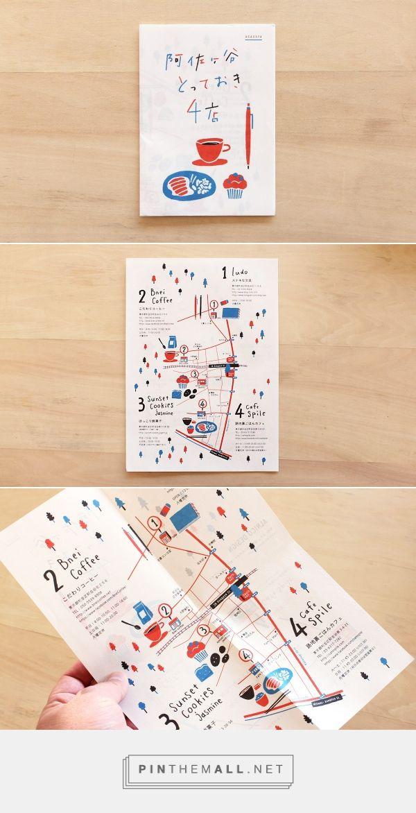 print #illustration © Alnico Design | 冊 | Pamphlet design