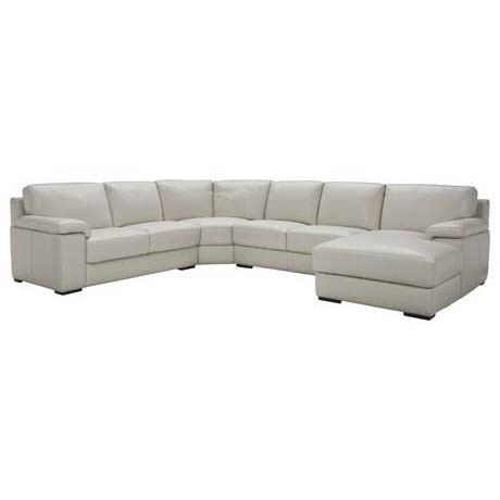 Freedom Furniture White Leather Couch