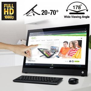 "Acer DA220HQL Media All-in-One Touch PC comes with these specs: TI OMAP 4430, dual-core ARM Coretex-A9, Android 4.0 Operating System (Ice Cream Sandwich), 21.5"" HD Optical 2-Point Multi-Touch Display (1920 x 1080 resolution, 16:9 aspect ratio ) http://astore.amazon.com/tourtravandre-20/detail/B00CHYKVPQ"