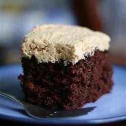 Eggless chocolate cake.