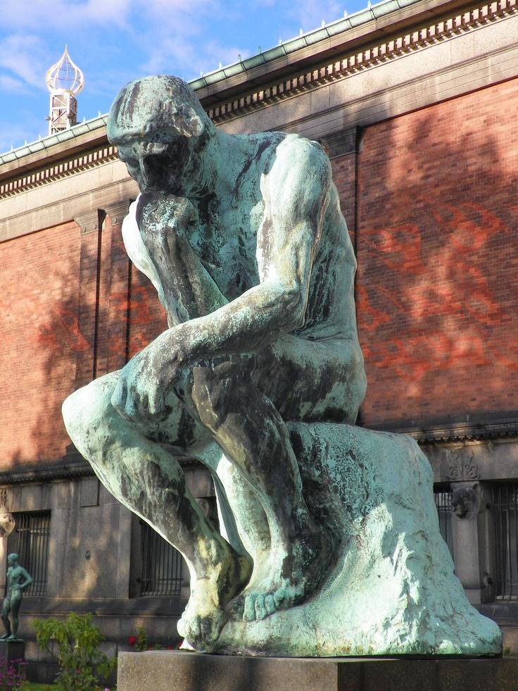 Copenhagen, Denmark~ The Sculpture Museum across from the Dansk Design Design Museum has some wonderful out door bronzes in their sculpture garden.