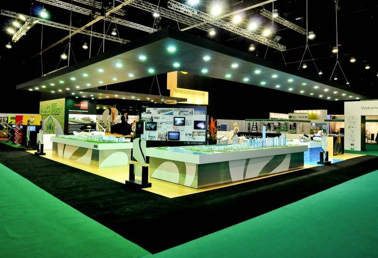 Bespoke exhibition booth design and build for Reem at Cityscape Abu Dhabi.