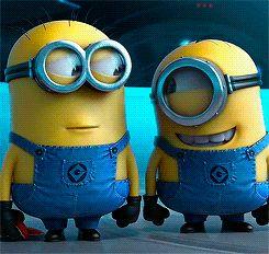 Be as fun as a #minion!