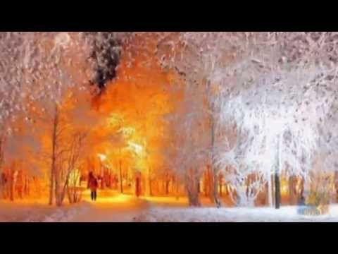 """''Зимняя сказка..""""Просто отдохните.Удивительная музыка.Сквозь вьюгу звон..."""