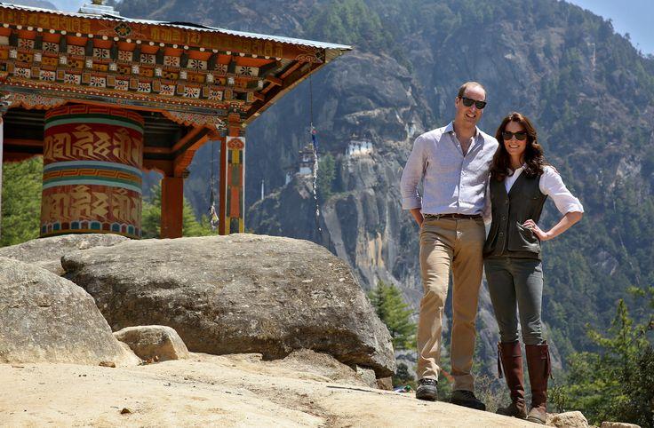 Prince William and Catherine, Duchess of Cambridge, visit Bhutan and India