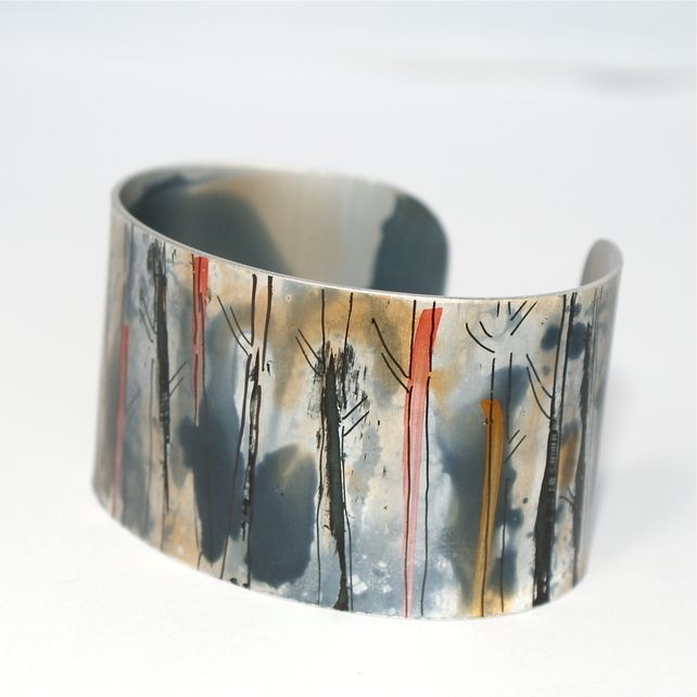Amonst the trees cuff - narrow £27.95