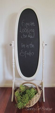 More Creative Ways With Chalkboard Paint