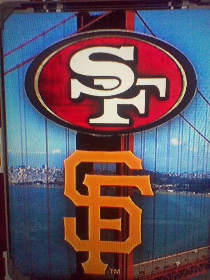 49ers & Giants - this is our year!!! best picture Ive seen!!!