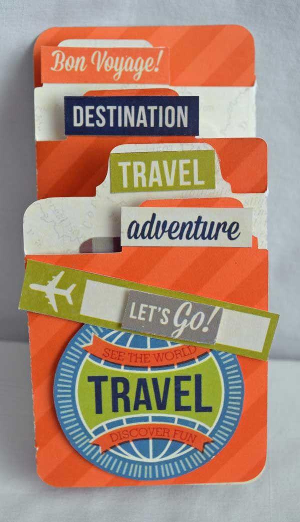 Travel Accordion Card *New Urban Traveler Simple Stories* - Scrapbook.com