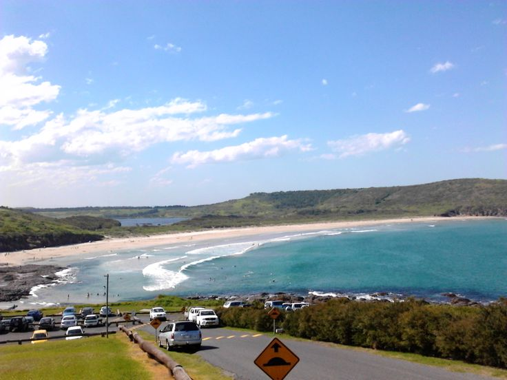 "2013. ""The Farm"" beach, at Killalea Park, Bass Point."