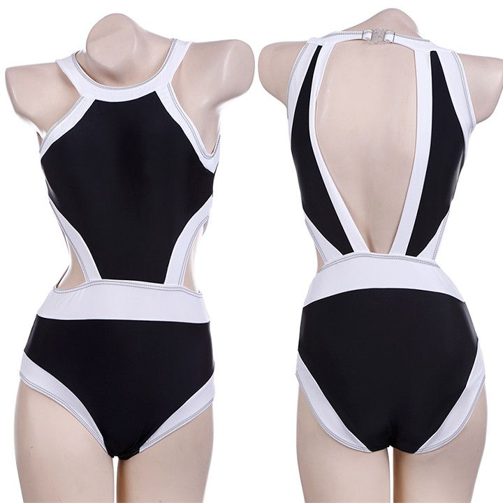 Swimwear Sexy Plus Size One Piece Swimsuit Bathing Suits Swimming Suit for Women Swim 63