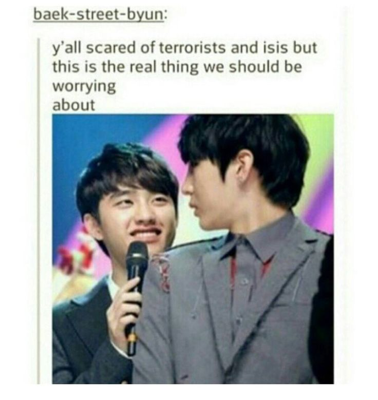 Leo (VIXX) + Kyungsoo (Exo) = world destruction