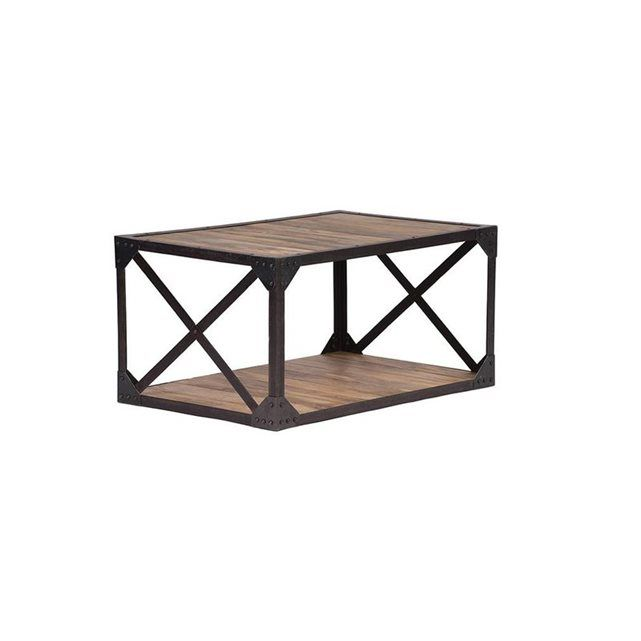 25 best ideas about table basse bois massif on pinterest for Table basse bois metal industriel