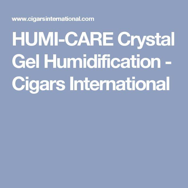 HUMI-CARE Crystal Gel Humidification - Cigars International