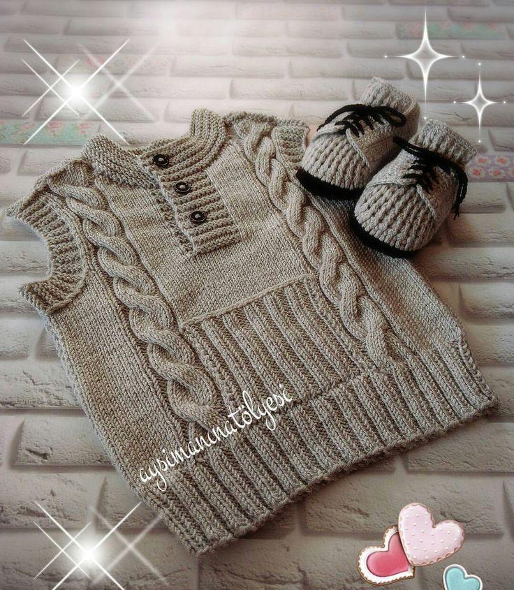 Casaquinhos de trico infantis [] #<br/> # #Tissues<br/>