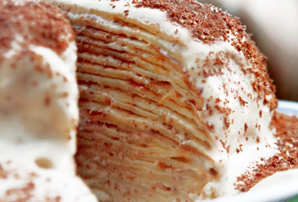 Creamy Amarula Pancake Tower!!!