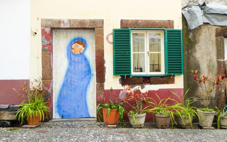 Verzierte Tür in Funchal © Gudrun Krinzinger