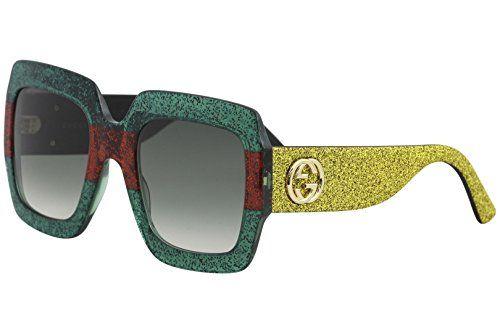 e0771d7170c Sunglasses Gucci GG 0102 S- 006 MULTICOLOR   GREEN GOLD