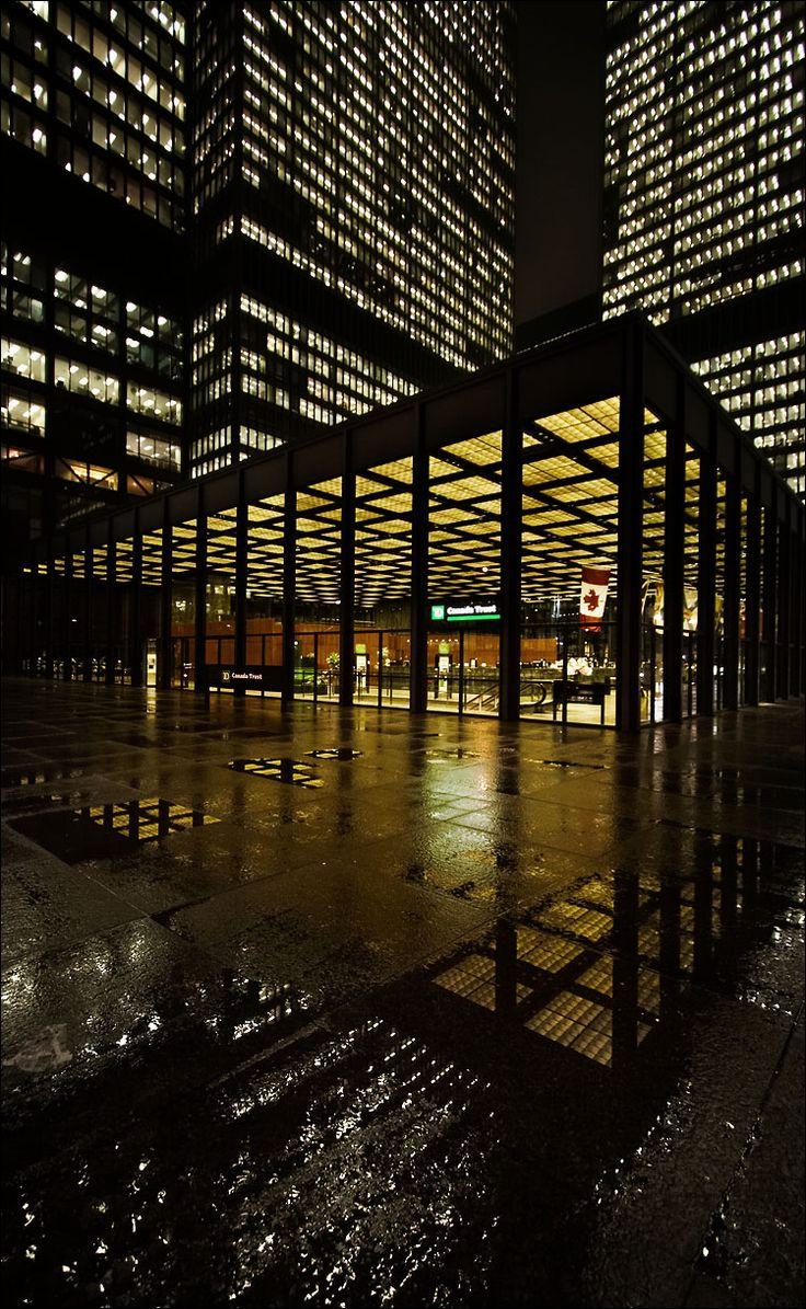 Toronto - Dominion Centre by Sam Yavanrouh. http://www.flickr.com/photos/wvs/