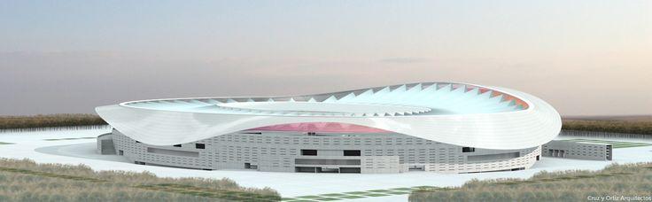 Estadio-futbol-Atletico-Madrid_Design-exterior-cubierta-textil_Cruz-y-Ortiz-Arquitectos_CYO-R_03