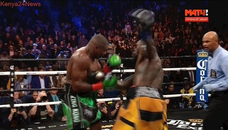 DEONTAY WILDER VS LUIS ORTIZ 10round  Knockout