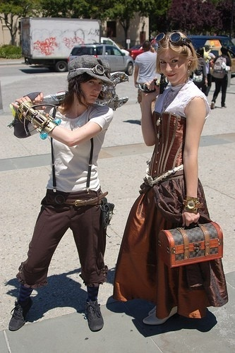 steampunk costume idea