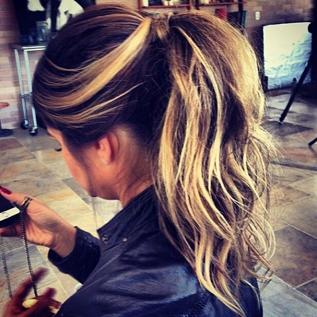 62 best cute hair styles images on pinterest hair colors and eyes love the dark hair with frosted tips pmusecretfo Choice Image