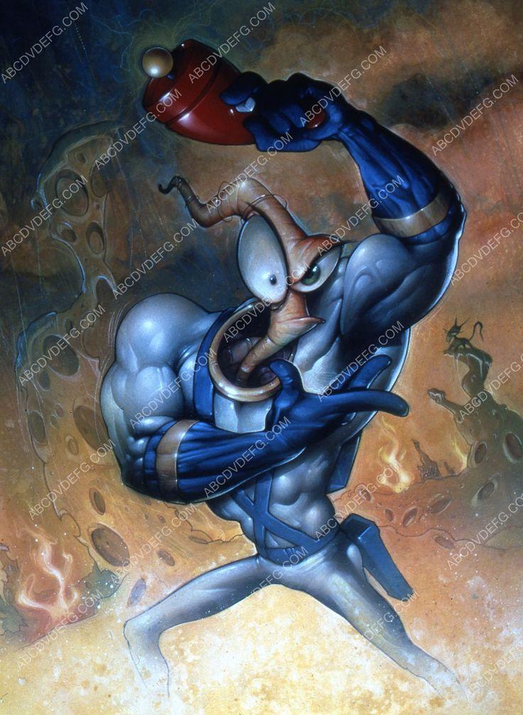 animated character Earthworm Jim 35m-6684