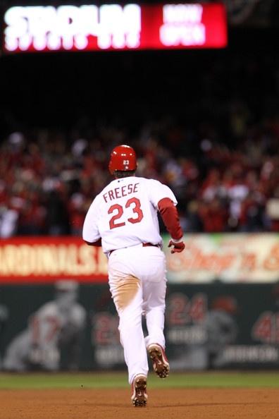 David Freese Photo - 2011 World Series Game 6 - Texas Rangers v St Louis Cardinals