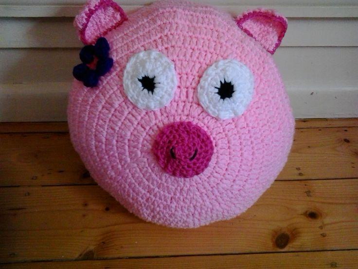 Piggy Pillow Pet #pig #pillowpet
