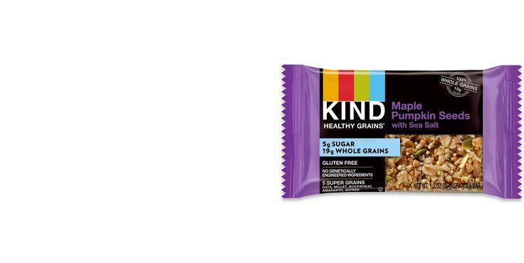 Maple Pumpkin Seeds Granola Bars with Sea Salt | KIND Snacks