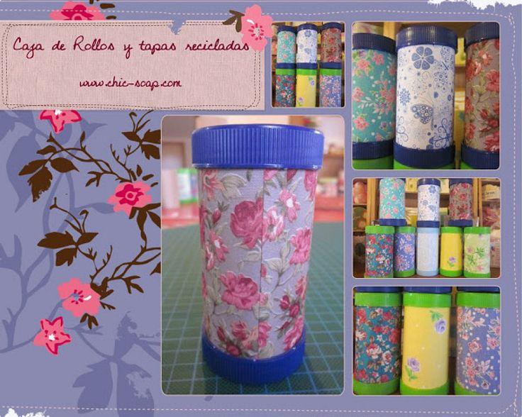 5 ideas con rollos de papel higi nico manualidades blog - Manualidades con rollos de papel higienico para navidad ...