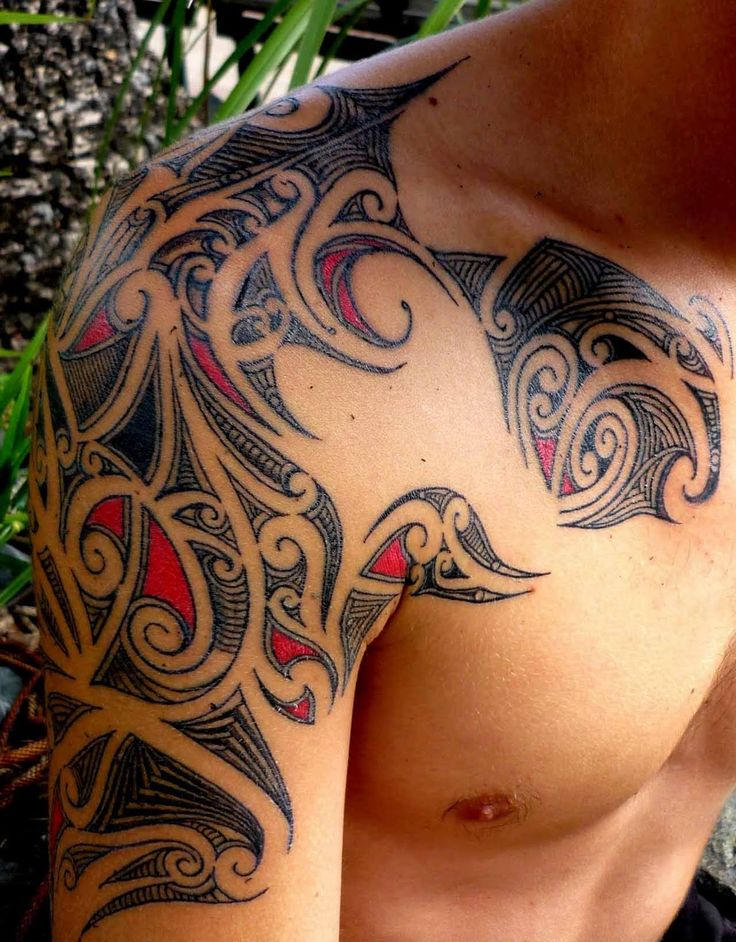 Among some of the most popular types of tattoos among men and women is one Shoulder tattoo designs.We also have many options for tattoos on shoulder in which one popular men shoulder tattoo design is Tribal Shoulder Tattoos. #polynesian #tattoo