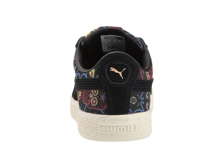 Puma Kids Basket Classic DOTD FM (Little Kid/Big Kid) Kids Shoes Puma Black/Puma Black