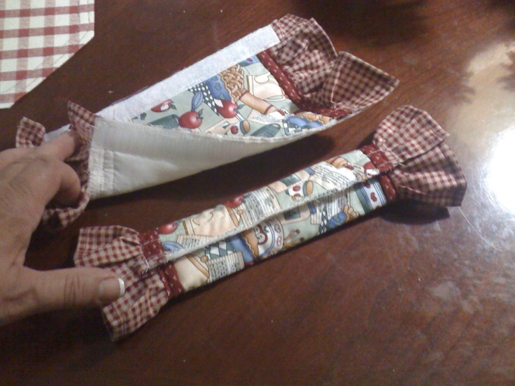 Fridge Handle Covers With Velcro Sewing Pinterest