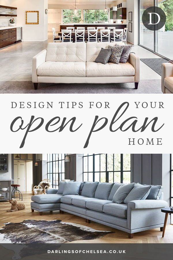 Get The Best Out Of Open Plan Living Open Plan Kitchen Living Room Open Kitchen Living Room Small Living Rooms
