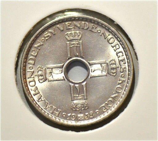 1 krone 1938 kv0