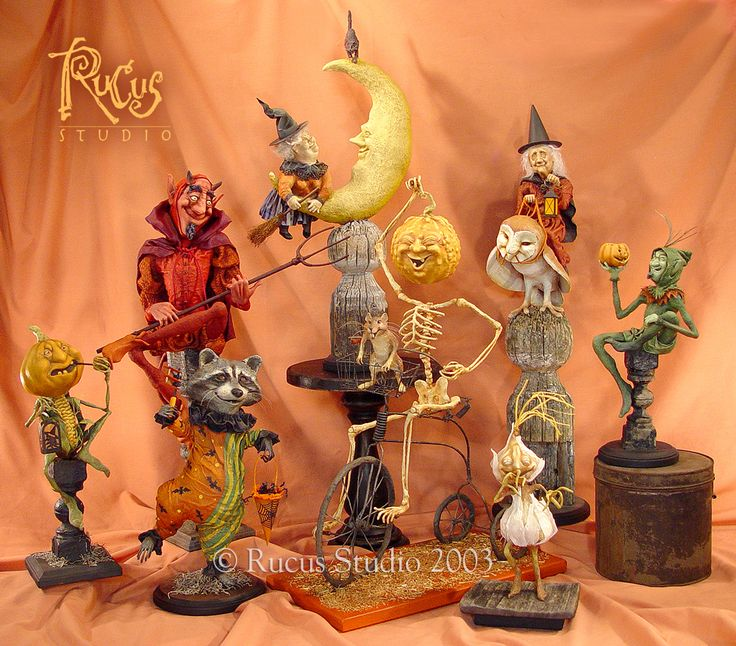 A Rucus Studio display from many years ago. © Rucus Studio 2003