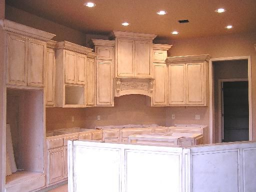 For my cabinets white distressed cabinets pictures for for Kitchen cabinets distressed white