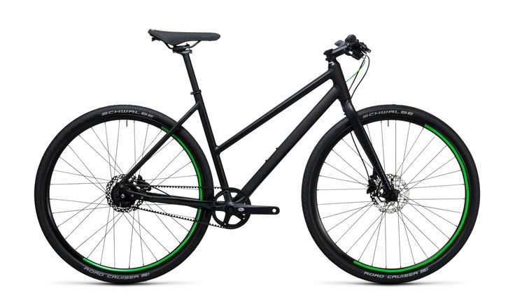 Cube Hyde Race Trapez black'n'flashgreen günstig kaufen ▷ fahrrad.de