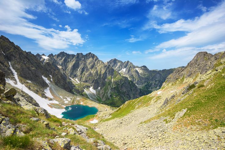 Photograph View of Litworowy lake in High Tatra Mountains by mirogie on 500px
