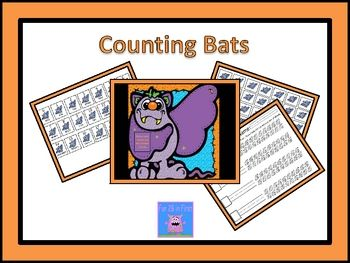 This freebie is perfect for any preschool or early elementary school Halloween or Bat unit. It is designed as an independent center activity, but i...