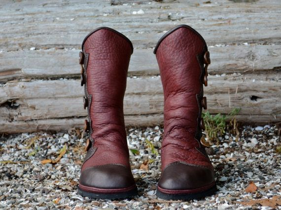 Redwood Island Moccasins  Custom Women's Boots  by SoulPathShoes, $460.00
