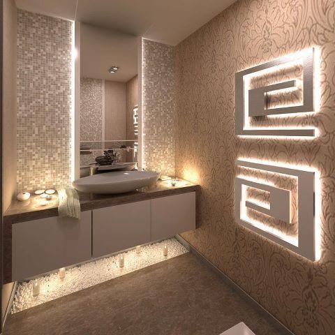 1000 ideas about hidden lighting on pinterest under for Crazy bathroom designs