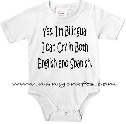 My children will be bilingual