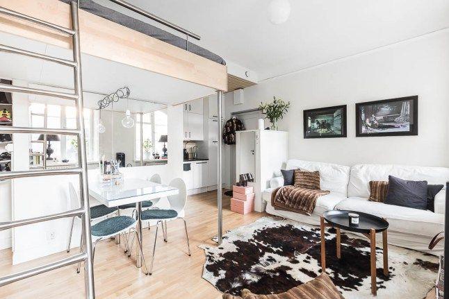 comment optimiser un petit studio planete deco a homes world studios mezzanine and comment. Black Bedroom Furniture Sets. Home Design Ideas